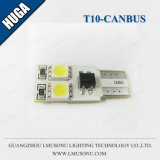 White Canbus T10 LED Wedge Bulb