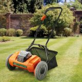New DC40V Li-ion Battery Cordless/Electric Cylinder/Reel Lawnmower-Garden Power Tool