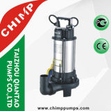 1.1kw Stainless Steel Sewage Submersible Water Pumps with Cutting Impeller for Dirty Water
