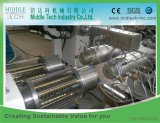(China wholesale price) High Speed Plastic PE PP LDPE Dual Water/Gas Pipe Making Machine