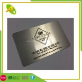 Precision Metal Blank Business Card Aluminum Business Card Etched Metal Cards/Special Metal Business Card (04)