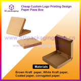 Cheap Custom Logo Printing Design Paper Pizza Box