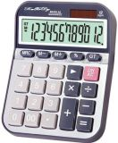 Basic Calculator Solar Battery Dual Power Desktop Calculator