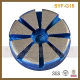 3 Inch 10 Seg 1 Pin Metal Bond Diamond Grinding Polishing Disc