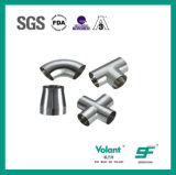 Stainless Steel Sanitary Welded Elbow Pipe Fittings