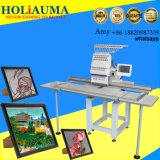 Ho1501L Single Head Big Size Flat Home Computerized Cap Embroidery Machine Factory Price