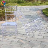 Outdoor Wedding Dining Crystal Clear Transparent Resin Acrylic Tiffany Chair