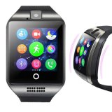 Touch Screen Bluetooth Smart Watch Q18 with SIM Card for Ios & Android