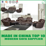 Modern Best Quality Leather Massage Function Reclining Sofa