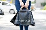 Novalty Customized Transparent Sheer Polyurethane PU Handbag Raincoat with Pouch
