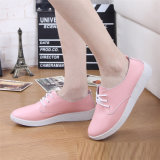 Hot Sale of Women Leather Shoes Casual Shoes Dance Shoes (FTS1020-19)