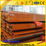 Aluminium Extrusion Wood Profiles for Doors and Windows