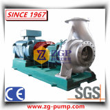 Horizontal Single Stage & Anti-Corrosive Chemical Water Centrifugal Pump of Duplex Stainless Steel, Titanium, Nickel, Monel, Hastelloy, 20 # Alloy.