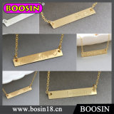 Custom Made Words Bar Necklace/Nameplate Necklace/Personalized Necklace