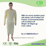 Disposable SMS Nonwoven Sterile Hospital Isolation Gown