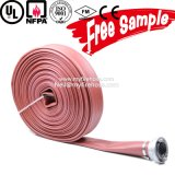 6~20bar 1~8 Inch Canvas Fire Sprinkler Flexible Hose PVC Durable Pipe Price