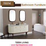 Double Basin with Double Mirror Home Bathroom Cabinet