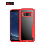 Cell Phone Plastic Cover for Samsung Galaxy S8 Luxury Bling Case with TPU Bumper