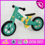 New Style Wooden Balance Bike for Kids, High Quality Kids Wooden Exercise Bike, High-Grade Cheap Wooden Kids Bike W16c122