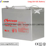 Solar Deep Cycle UPS Battery Rechargeable Gel Battery for Plateaus