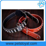 2016 New Pet Product Leather Dog Pet Collar (HP-106)