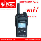 Handheld Walkie Talkie with SIM Card 2g/3G Network WCDMA/GSM for Hot Sale