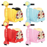 Children Motorcycle Luggage Ride Suitcase Toy Storage Box Kid′s Luggage