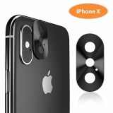 Ultra-Thin Rear Aluminum Camera Lens Protector for iPhone X