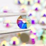 Ss20 Crystal Ab Glass Rhinestone Flatback Non Hotfix Rhinestone Crystals (FB-5mm/5A)
