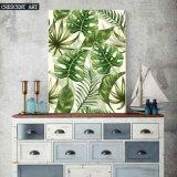 Palm Leaves Decorative Art Print on Canvas