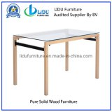 Wooden Furniture Dining Table Set Tempered Glass Dining Table Best Price Glass