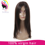 Wholesale Price Unprocessed Natural Color Human Hair 130% Frontal Lace Wig
