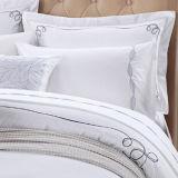 Luxury 300thread Count White Embrodeiry Cotton Beddingset