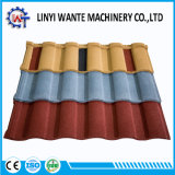 Mediterranean-Style Roman Type Colorful Stone Coated Metal Roof Tile