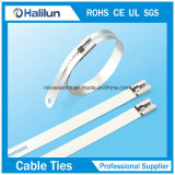 304 Steel Cable Tie Multi Barb Ladder Lock Type