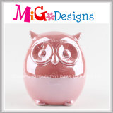 2017 China Manufactory New Style Owl Piggy Bank for Kids