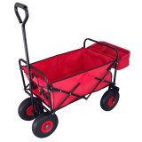 Folding Beach Wagon with Back Pocket