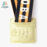 China Supply Wholesale Price 3D Marathon Sports Gold Medal