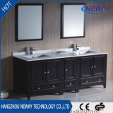Floor Mounted Simple Design Wood Bathroom Vanity Cabinet