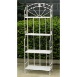 Wrought Iron Flower Shelf