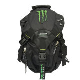 Black Racing Sports Backpack Motorcycle Shoulders Backpack (BA12)