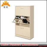 Wholesale Knock Down Stracuture Shoe Storage Cabinet Metal Shoes Rack