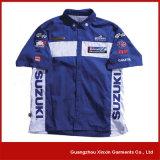 Customized Custom Sublimation Men's Motocross Pit Crew Race Shirts (S07)