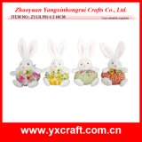 Easter Decoration (ZY13L951-1-2 18CM) Easter Home Party Decoration Bunny Toy