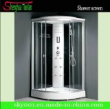 Low Tray Round Sliding Door Computer Simple Shower Room (TL-8815)