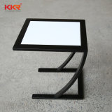 Solid Surface Small Hotel Room Sofa Coffee Table