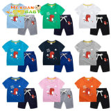 Baby Clothes Sets Clothing Short-Sleeved Top + Shorts 2 Pieces Summer Children′s Clothing Boy 100% Cotton Short-Sleeved Suit