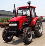Low Price 110HP 4WD Farm Wheel Tractor with Agricultural Equipments