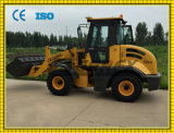 Articulated Compact Small Mini Wheeled/Track Skid Steer Dumper Loader, Backhoe, Front End Tractor Wheel Loader