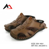 Sandal Shoes Casual Leather Slippers Wholesale Foe Men (AK1855)